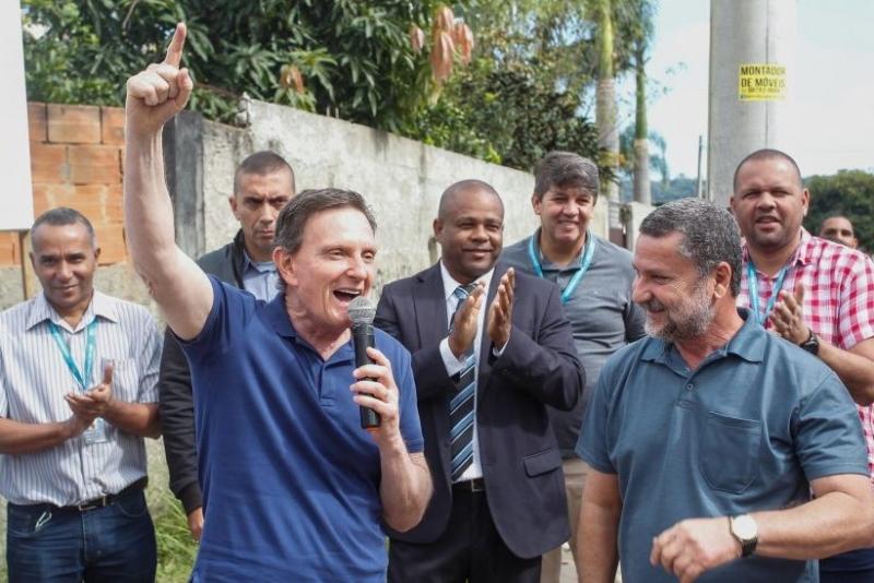 Ex-prefeito do Rio de Janeiro, Marcelo Crivella